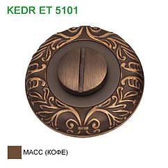 Ручка дверная KEDR (Кедр) ET 5101