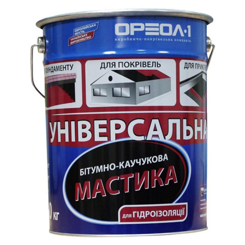 """Мастика битумно-каучуковая """"УНИВЕРСАЛЬНАЯ"""" 3 кг"""