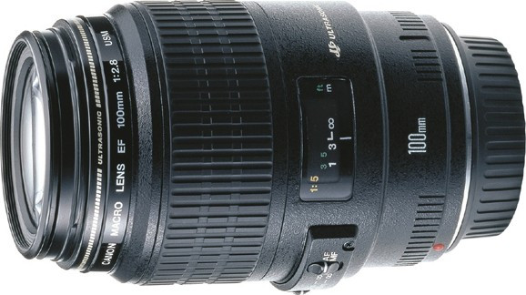 Стандартный объектив (макро) Canon EF 100mm f/2.8 Macro USM