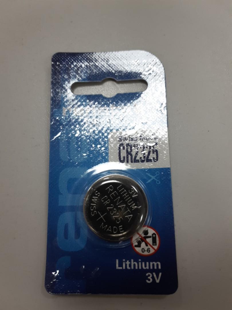 Дисковая батарейка RENATA Lithium Cell 3V   CR2325 (190mAH) (C1)