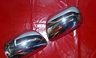 Накладки на зеркала для Toyota Corolla, Тойота Корола, 2000-2006 г.в.