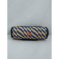 Портативная bluetooth колонка спикер JBL E11 FM, MP3, радио Жёлто - Синяя