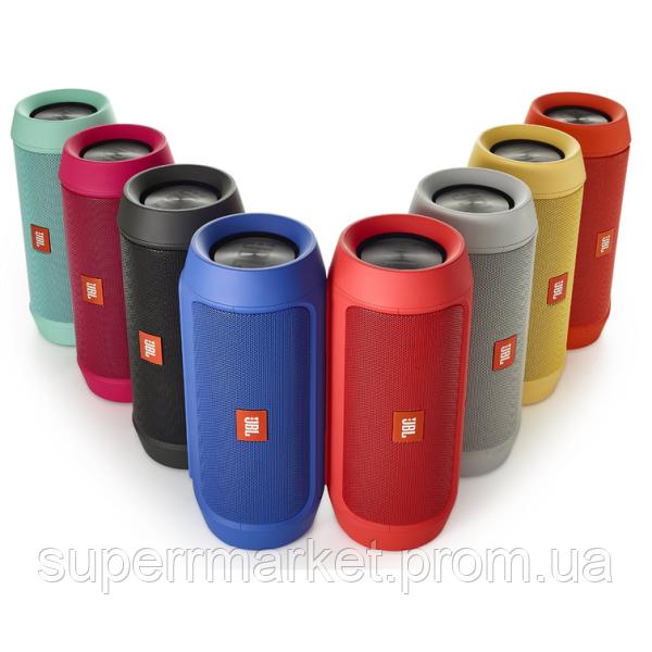 JBL Charge2+ e2+ реплика, колонка c FM Bluetooth MP3