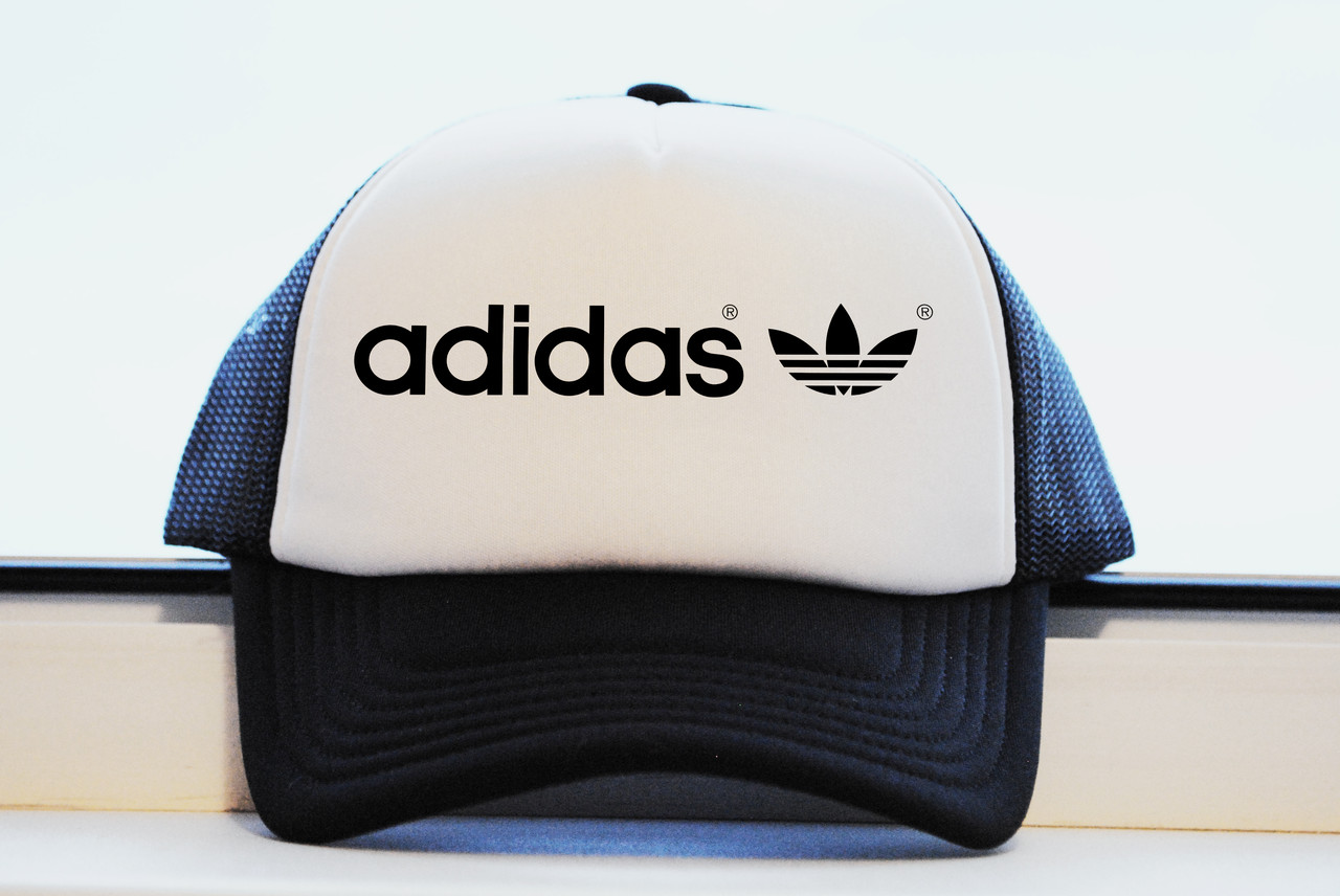 Кепка Adidas Classic принт как оригинал реплика