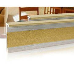 Плинтус для ковролина Salag (Салаг) 160, цвет 60 бук