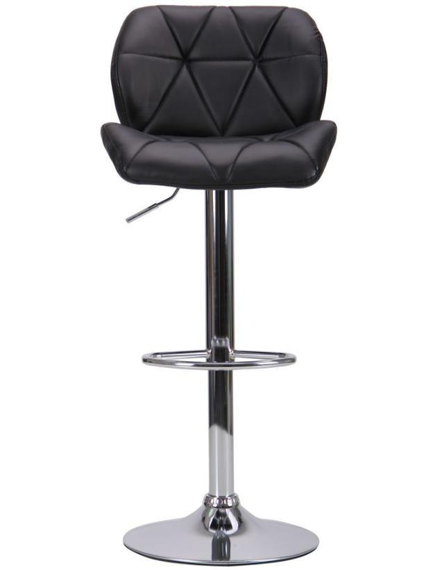 Барный стул Vensan черный без канта (фото 3)