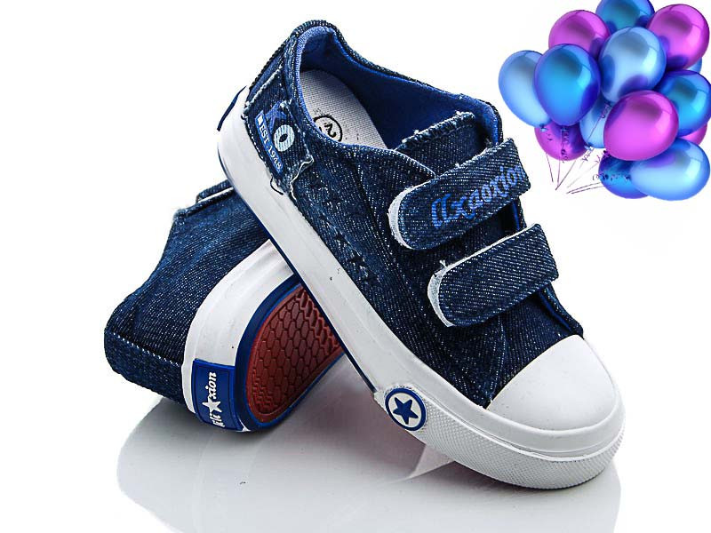 Детские джинсовые кеды CBT.T  размеры 26-30