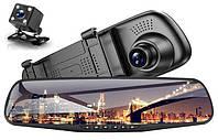 Зеркало-видеорегистратор Vehicle Blackbox DVR с камерой заднего вида Full HD Original 2 камеры