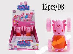 Машинка инерционная Peppa pig Свинка пеппа (продажа от 12 шт)