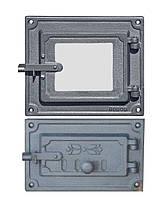 Дверцы чугунные DPK17/3R, фото 1