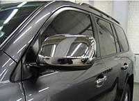 Накладки на зеркала для Toyota Land Cruiser 200, Тойота Лэнд Крузер 200