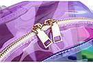 Прозрачный рюкзак в полоску Enjoinin серебро (AV118), фото 7