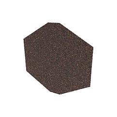 Заглушка конька треугольного для черепицы QueenTile (КвинТайл)