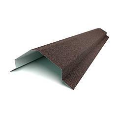 Планка конька треугольного большая для черепицы QueenTile (КвинТайл)
