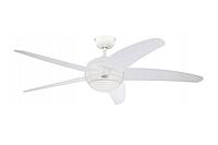 Потолочный вентилятор BENDAN 132 см Белый + пульт