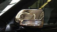 Накладки на зеркала для Toyota Land Cruiser 200, Тойота Лэнд Крузер 200 2012+
