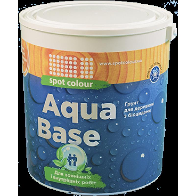 Грунт водный для древесины с биоцидным действием Aqua Base