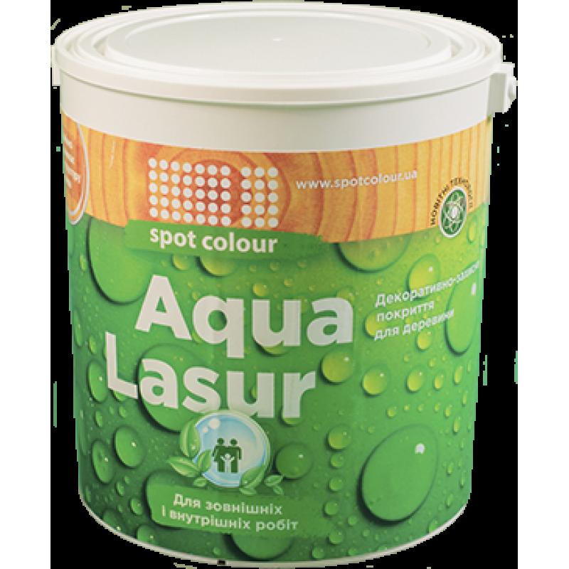 Лазурь водная для древесины Aqua Lasur белое дерево