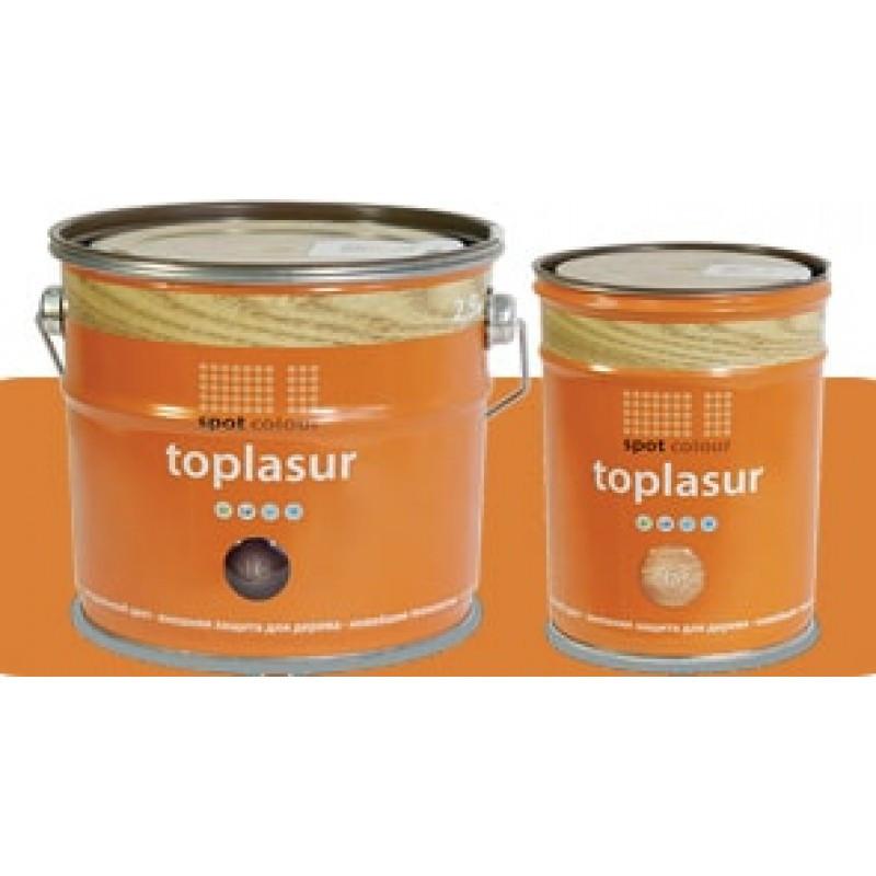 Топлазурь алкидная для дерева Toplasur в ассортименте