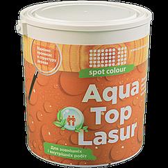 Топлазурь водная для древесины Aqua Top Lasur в ассортименте