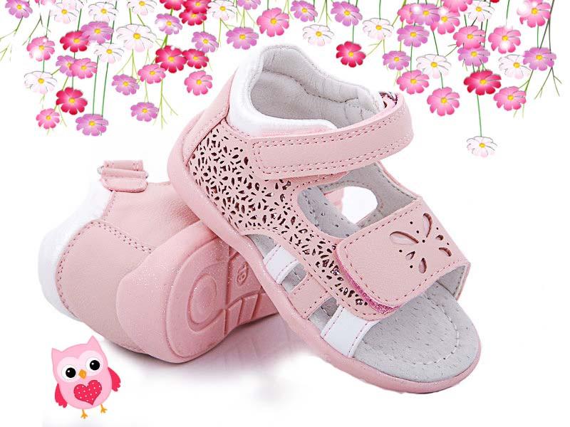 Детские   босоножки, сандалии Apawwa для девочки,размеры 22, 24