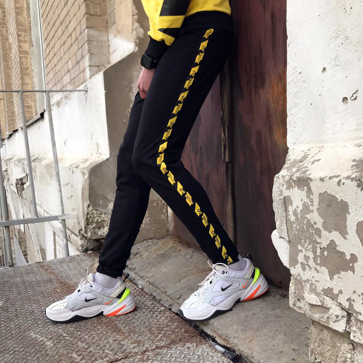 Спортивні штани в стилі Off White Stripe чж( розмір XL)