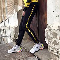 Спортивні штани в стилі Off White Stripe чж( розмір XL), фото 1