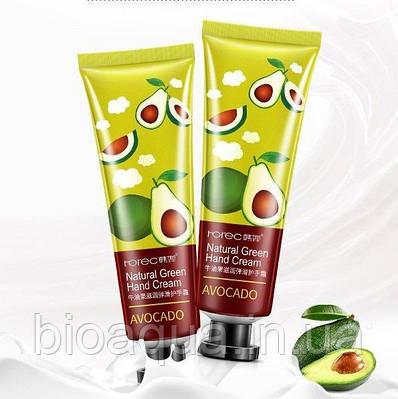 Крем для рук Rorec Natural Green Hand Cream с натуральными экстрактом авокадо 30 g