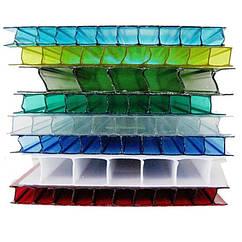 Сотовый поликарбонат Ultramarin 4 мм (цветной)