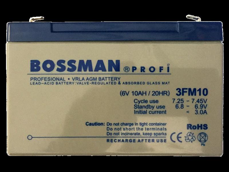 Аккум.для детских эл.мобилей Bossman-Profi 3FM10Е