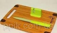 Hilton набор нож+доска+точилка