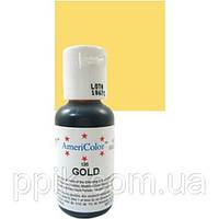 Краситель гелевый Americolor Золотой (Gold)