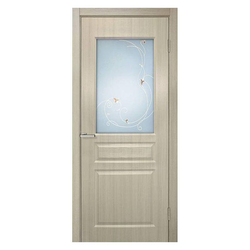 Дверь ПВХ Омис Барселона ПВХ СС+КР