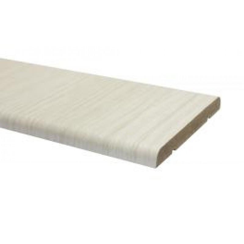 Наличник прямой Омис Cortex Deco 70мм, 2200мм, в уп. 1 кмпл. (2,5 шт. в кмпл.) бел