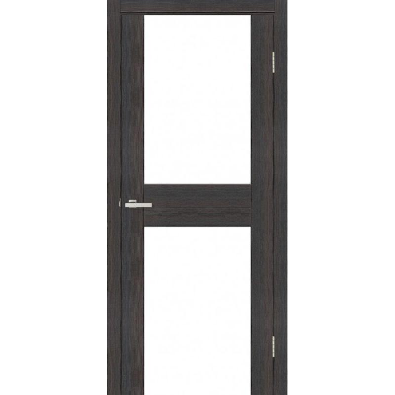 Дверь Омис Cortex gloss 03 ПО триплекс черный
