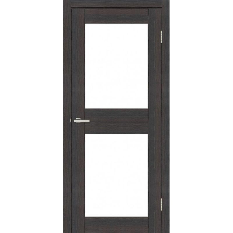 Дверь Омис Cortex gloss 04 ПО триплекс черный
