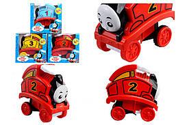 "Паровоз 77708-43 ""Thomas"" перевертыш инерц.3цв.кор.14,5*8,1*13,9 /72/"