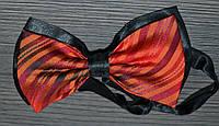 Модельная бабочка-галстук красного цвета CALIENTE
