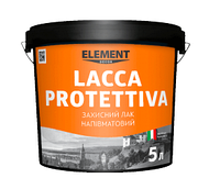 LACCA PROTETTIVA ELEMENT DECOR 5 л Защитный полуматовый лак