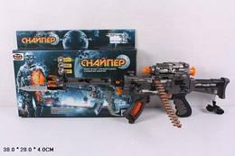 """Автомат PLAY SMART 7148 """"Снайпер"""" батар.муз.свет.кор.38*4*28 ш.к./36/"""