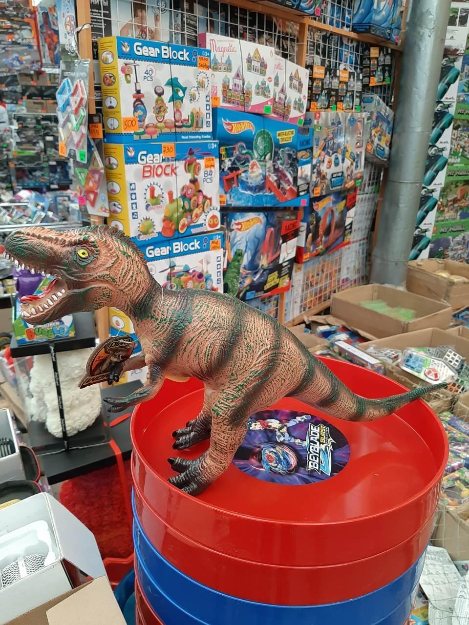 Резиновый динозавр 66006
