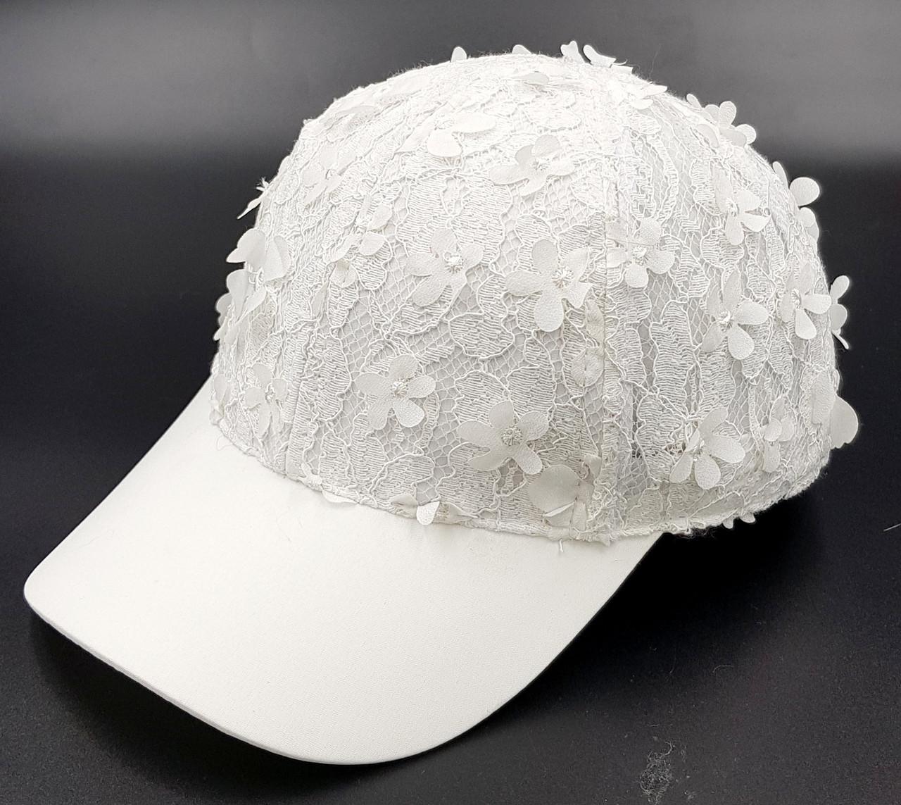 Женская летняя кепка- Кружево