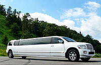 Лимузин Infiniti QX56 белая