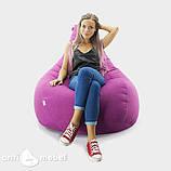 Кресло мешок груша микро-рогожка 90*130 см