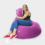Кресло мешок груша микро-рогожка 100*140 см