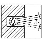 Ключ накидной трещоточный TX E Wurth, фото 3