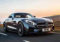 Вафельная картинка автомобиль Mercedes 1