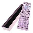 Подарочная коробочка под браслет или цепочку Сердечки с бантом 20,5х4,5х2 см, микс цветов, фото 4