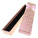 Подарочная коробочка под браслет или цепочку Сердечки с бантом 20,5х4,5х2 см, микс цветов, фото 5