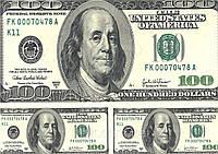 """Вафельная картинка деньги """"Доллар США"""""""